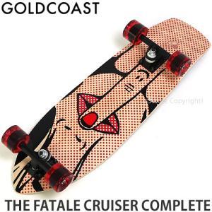 ゴールドコースト コンプリート GOLDCOAST THE FATALE CRUISER CPL スケートボード スケボー クルージング 完成品 サイズ:28 x 8.25|s3store