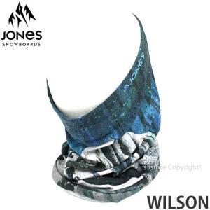 17 ジョーンズ ウィルソン 【JONES WILSON】 16-17 スノーボード ネックウォーマー フェイスマスク フリーサイズ SNOWBOARD NECKWARMER FACEMASK カラー:BLUE|s3store