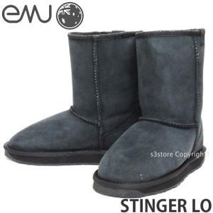 エミュー スティンガー ロー emu STINGER LO 国内正規品 レディース ウィメンズ ブーツ シープスキン ムートン 撥水 定番 カラー:BLACK|s3store