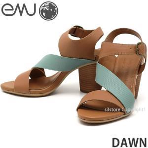 エミュー ドーン emu DAWN サンダル 靴 レディース ウィメンズ 女性 ヒール EVA ストラップ ファッション コーディネート カラー:TAN|s3store