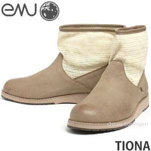 エミュー ティオナ emu TIONA 国内正規品 レディース ウィメンズ ブーツ メッシュ ショート 軽量 オーストラリア カラー:SAND|s3store