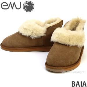 エミュー バイア emu BAIA 国内正規品 ムートン ブーツ レディース オーストラリア シープスキン ファー メリノ羊毛 抗臭 カラー:Chestnut|s3store