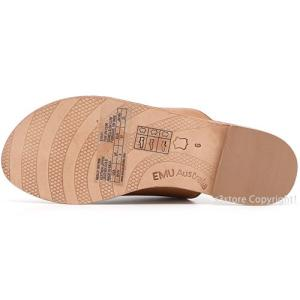 エミュー モーリー emu MOLLY サンダル 靴 レディース 女性 フラット ぺったんこ 牛皮 レザー ファッション コーデ カラー:Tobacco Brown|s3store|04
