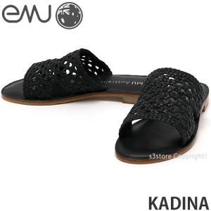 エミュー カディナ emu KADINA 国内正規品 サンダル レディース 女性 フラット ミュール メッシュ ファッション コーデ カラー:Black|s3store