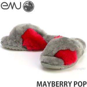 エミュー メイベリー ポップ emu MAYBERRY POP 国内正規品 レディース ウィメンズ シープスキン ムートン サンダル カラー:FUCHSIA|s3store