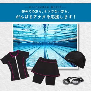 競泳用 フィットネス水着 レディース セパレー...の詳細画像1