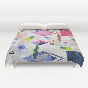 ソサエティシックス Society6 ブランド ベッド ベッドリネン bed linen ベッドカバー 掛け布団カバー - キングサイズ s6-japan