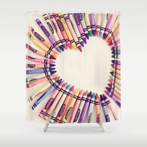 ソサエティシックス Society6 ブランド シャワーカーテン サイズ:約188cm × 約180cm デザイナー 188 180 おしゃれ|s6-japan