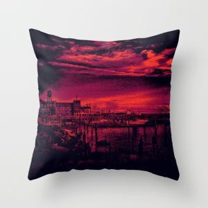 [Sunset Over Bristol Harbor 3 by spires][ブリストルハーバー...