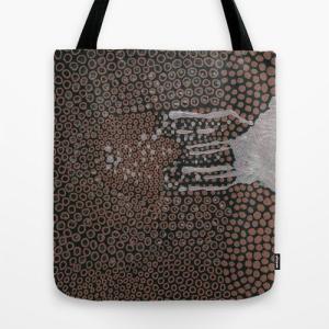 ソサエティシックス Society6 ブランド トートバッグ キャンバス デザイナー おしゃれ M:横40.6cm x 縦40.6cm 40×40 軽量 布 エコバッグ s6-japan