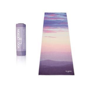 Yoga Design Lab (ヨガデザインラボ)エコヨガタオル/ブレス マイクロファイバーのヨガラグ ヨガマットサイズ|sa69shioutlet