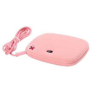 LIFEJOY コンパクト 電気あんか 平形 ゆたんか君 温度調節可 16×23×5cm ピンク AH601|sa69shioutlet