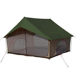 DOD(ディーオーディー) エイテント クラシックな外観の家型テント ポリコットン生地 T5-668-KH|sa69shioutlet