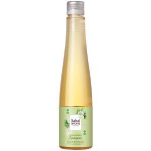 サバイアロム(Sabai-arom) ホームグロウン レモングラス バス&マッサージオイル 200mL【LMG】【008】|sabai-arom-store