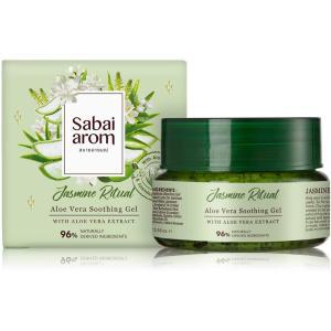 サバイアロム(Sabai-arom) ジャスミン リチュアル アロエベラ スージング ジェル 100g【JAS】【009】|sabai-arom-store