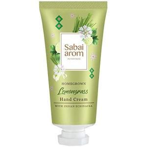 サバイアロム(Sabai-arom) ホームグロウン レモングラス ハンドクリーム 30g【LMG】【004】|sabai-arom-store