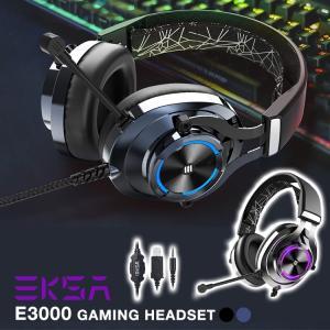 EKSA ゲーミング ヘッドフォン ヘッドセット ヘッドホン本体 ゲーム用 E3000 7.1サラウ...