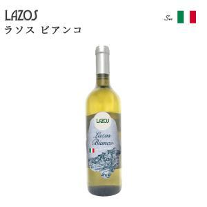 LAZOS ラソス ラソス ビアンコ 白ワイン 中辛口 イタリア ミディアムフルボディ シャルドネ ヴェルドゥッツォ ヴェネト 750ml|sabb
