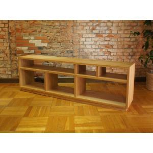Side Board S 180cm サイドボード TVボード ナラ材天然木|sabisabi-web