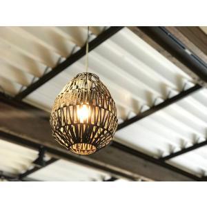 バンブー Lamp Apolo ブラック|sabisabi-web