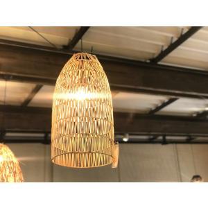 バンブー Lamp Tiois ナチュラル Mサイズ|sabisabi-web