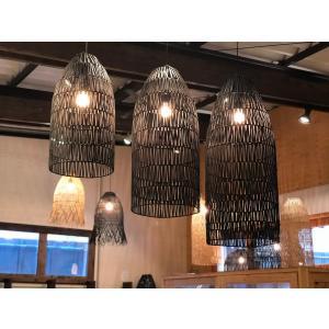 バンブー Lamp Tiois ブラック Mサイズ|sabisabi-web