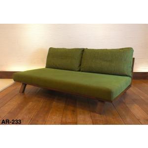 BM Sofa 3人掛けソファ 選べる背もたれシリコン綿タイプ ローソファー ナラ無垢材|sabisabi-web