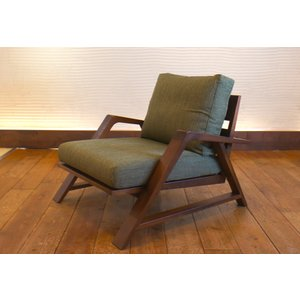 RM Sofa 1人掛けソファ 選べる背もたれシリコン綿タイプ ナラ無垢材|sabisabi-web