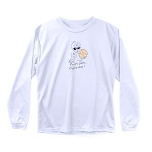 バスケ ロンT メンズ ウェア 「バスケットボールベイビー」 長袖 Tシャツ 練習着 (ノースアイラ...