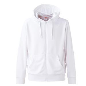 パーカー メンズ レディース 白 ホワイト xs s m l xl xxl ss 2l 3l スウェット フルジップ 保温 速乾 厚手 ジップアップ スポーツ 吸水 長袖 アウター 無地 UV|sac