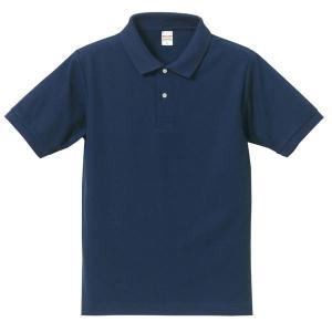 ポロシャツ メンズ レディース 半袖 シャツ ブランド ドライ 無地 大きい 小さい UVカット スポーツ 鹿の子 男 女 消臭 速乾 xs s m l 2l 3l 4l 5l 青 ネイビー|sac