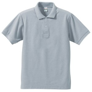 ポロシャツ メンズ レディース 半袖 シャツ ブランド ドライ 無地 大きい 小さい UVカット スポーツ 鹿の子 男 女 消臭 速乾 xs s m l 2l 3l 4l 5l 人気 灰色|sac