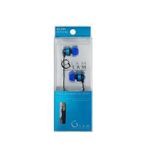 【商品名】 (業務用セット) ELPA カナル型ステレオヘッドホン ブルー 1.2m RD-ST01...