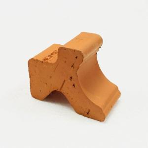 〔12個入〕植木鉢用ポットフィート/足台 〔テラコッタ〕 イタリア製 『ピェディーノDE』 〔園芸 ガーデニング用品〕|sac