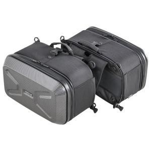 タナックス(TANAX) ミニシェルケース(ツーリング) カーボン柄 MFK-234 ツーリングバッグ BOX|sac