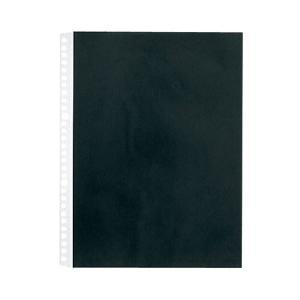 【商品名】 (まとめ)キングジム カラーベースポケットA4タテ 2・4・30穴 黒 103CP 1パ...