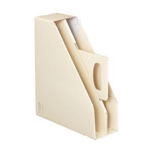 【商品名】 (まとめ)コクヨファイルボックス[KaTaSu]取っ手付き・スタンドタイプ オフホワイト...