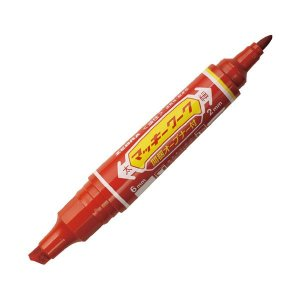 【商品名】 (まとめ)ゼブラ マッキーワーク 赤 P-YYT21-R【×20セット】
