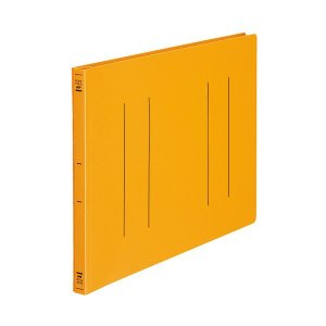 【商品名】 (まとめ) コクヨ フラットファイル(PP) B4ヨコ 150枚収容 背幅20mm オレ...