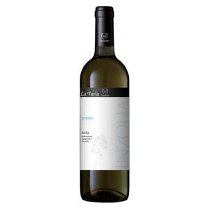 【シチリアワイン】フェルラ インツォリア 2019年 白 辛口 ミディアムボディ 750ml 家飲み...