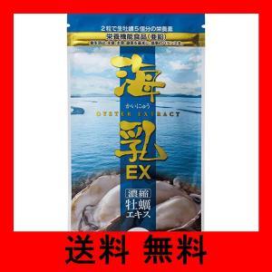 販売実績15年の濃縮牡蠣エキス 「海乳EX」 (31日分/62粒)亜鉛 グリコーゲン アルギニン ビ...
