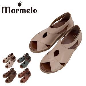 マルメロ クロスサンダル 日本製 レディース 06-04-30005 marmelo 靴 シューズ レザー サックスバーPayPayモール店
