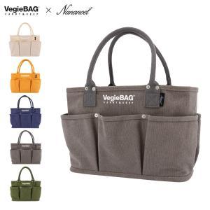 ベジバッグ トートバッグ レディース 21133-11201 Vegiebag Nananoel | お買い物バッグ ショッピングバッグ マザーズバッグ キャンバス ナナノエル スモール|サックスバーPayPayモール店