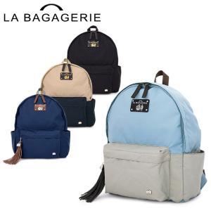 6a2921da2f ラバガジェリー LA BAGAGERIE リュックサック Mサイズ B61-01-08 ウォータープルーフナイロン レディース