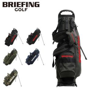 ブリーフィング ゴルフ キャディバッグ 9.5型 47インチ対応 5分割 CR-4 #02 メンズ BRG203D21 BRIEFING ゴルフバッグ サックスバーPayPayモール店