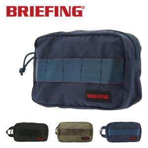 ブリーフィング ポーチ メンズ ワンジップポーチMW BRM181611 BRIEFING バッグインバッグ リップストップナイロン  [PO10]|サックスバーPayPayモール店