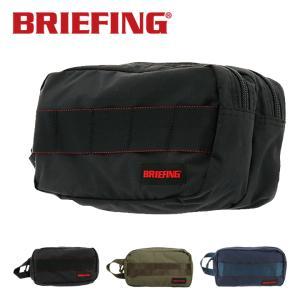 ブリーフィング ポーチ メンズ ダブルジップポーチMW BRM181612 BRIEFING バッグインバッグ リップストップナイロン  [PO10]|サックスバーPayPayモール店