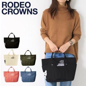 ロデオ クラウンズ RODEO CROWNS トートバッグ c06229102  キャンバス メンズ レディース ユニセックス MGISELe 5月号掲載 [PO5]|サックスバーPayPayモール店