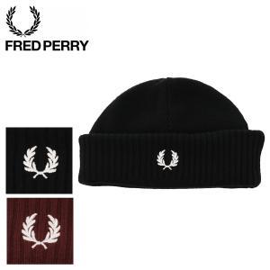 フレッドペリー ニット帽 ロールアップビーニー メンズ レディース C7142 FRED PERRY...