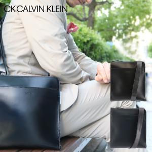 シーケー カルバンクライン ショルダーバッグ ダイス 807111 CK CALVIN KLEIN メンズ 本革|sacsbar